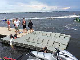 Dry dock for jet ski