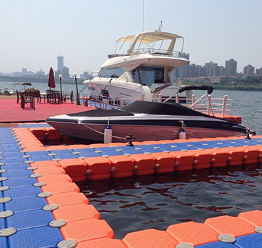 used floating dock
