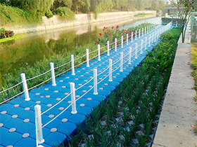Floating Bridge Float Platform