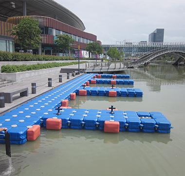 plastic boat floating dock