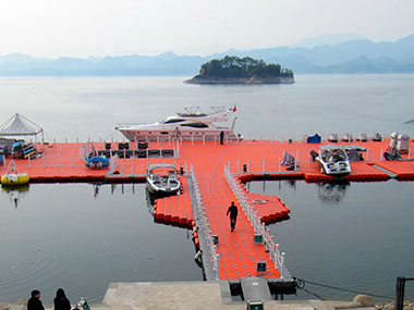 Floating Platform in Zhejiang Greentown