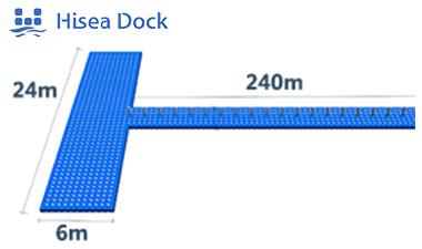 modular floating pontoon bridge