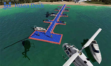 floating dock plastic pontoon