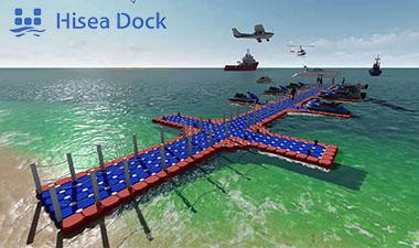 floating dock plastic pontoon