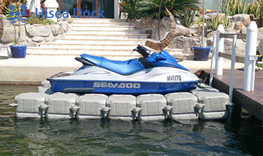 A Floating Jet Ski Dock
