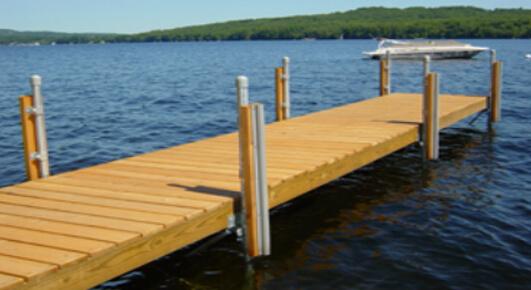 dock material