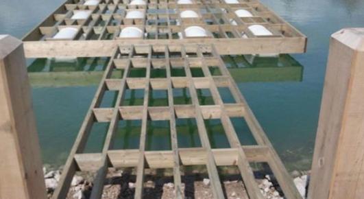 floating dock repair
