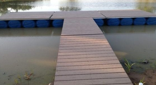Floating dock kit project