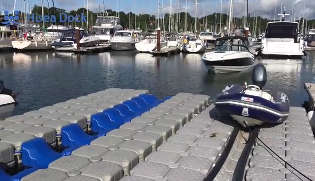 Drive-on Boat Dock