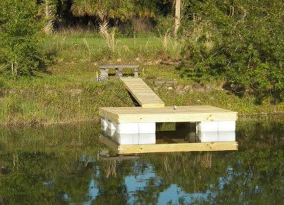 DIY floating platform