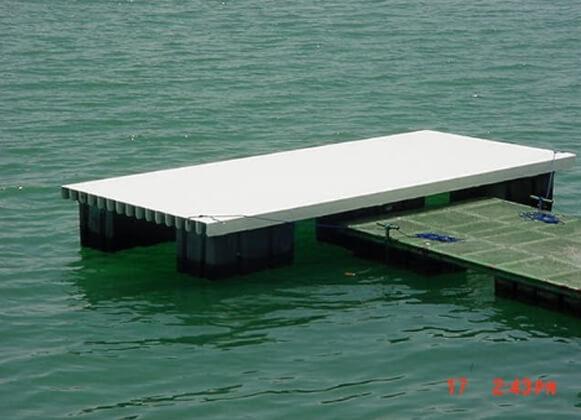fiberglass floating dock