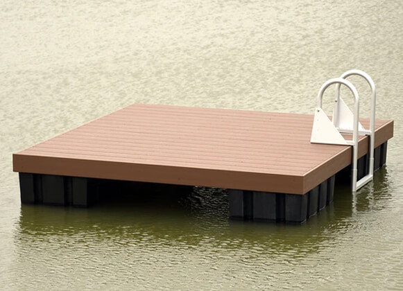 swimming floating dock