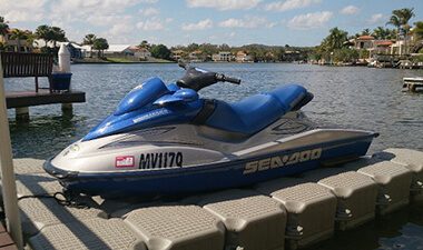 Hisea Dock Jet Ski Floating Dock