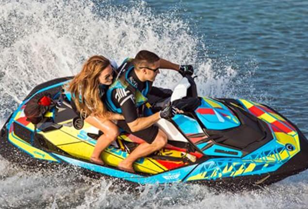 Sea Jet Skiing