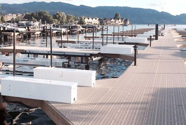 permanent floating dock