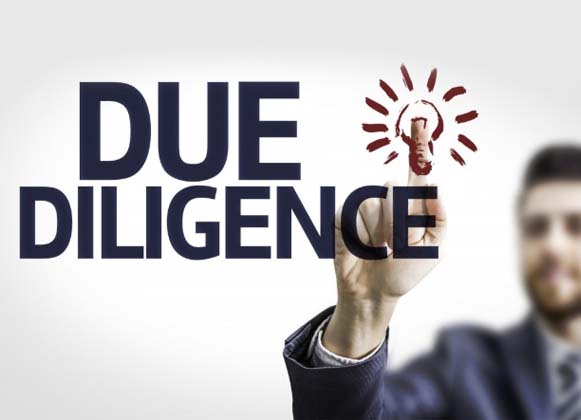 Do Due Diligence
