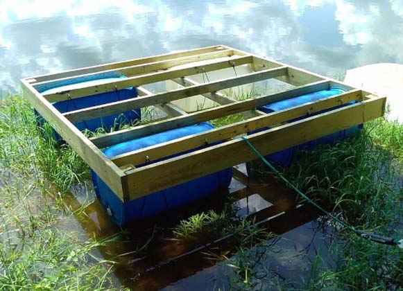 A Flipped Incomplete Floating Dock
