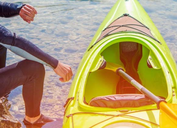 Types of kayak material