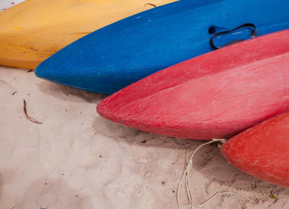 Types of kayak hulls