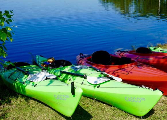 Choosing kayak accessories