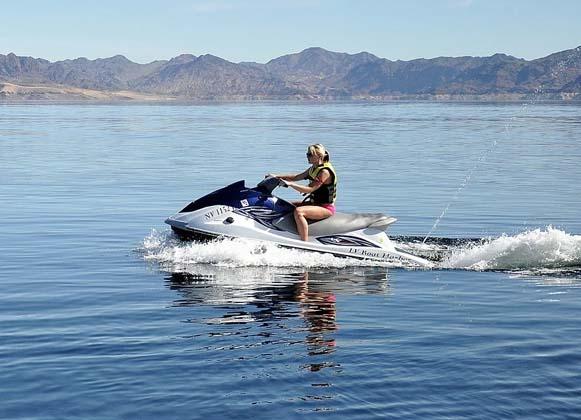Jet ski watercraft