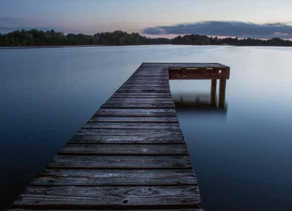 A Lake Dock