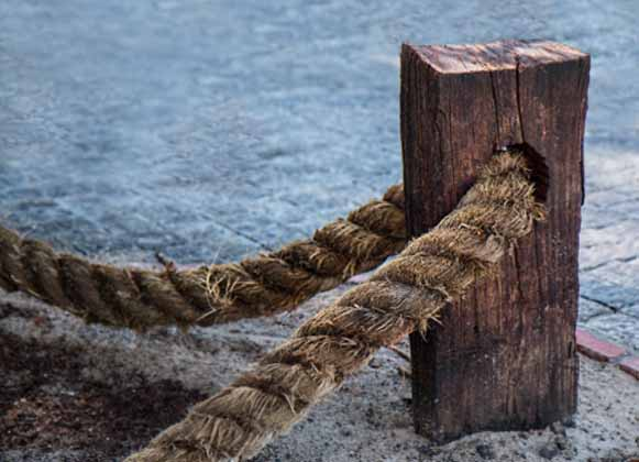 An Old Worn Out Rope