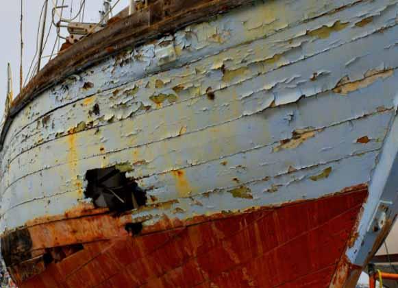Damaged Boat