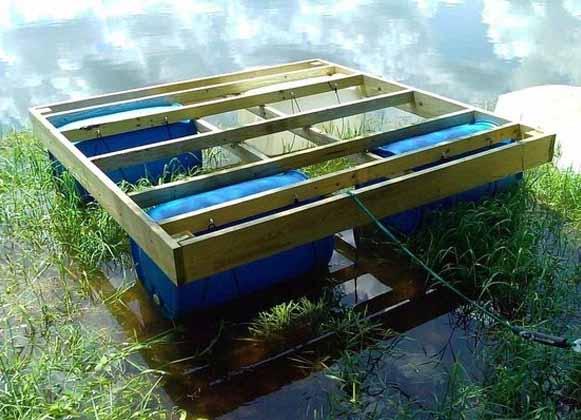 Homemade Floating Platform