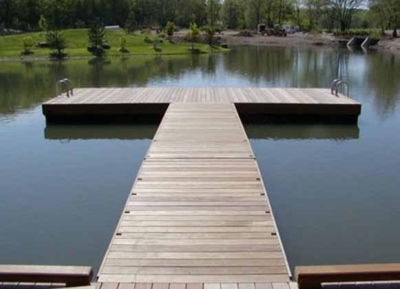 A 2-in-1 Floating Dock