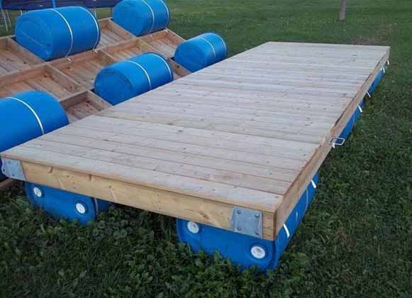 A DIY Floating Dock