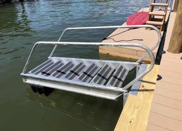 A Dock Ladder