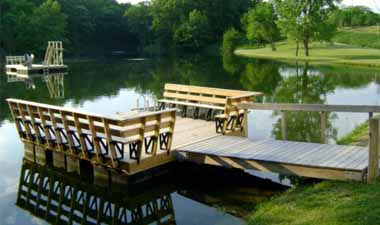 A Floating Dock