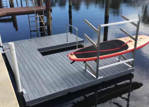 A Kayak Dock