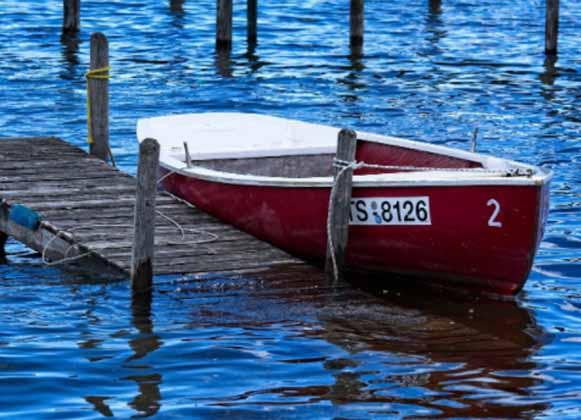 A Sunken Dock