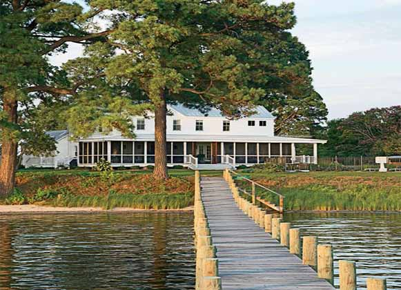 A Waterfront Home