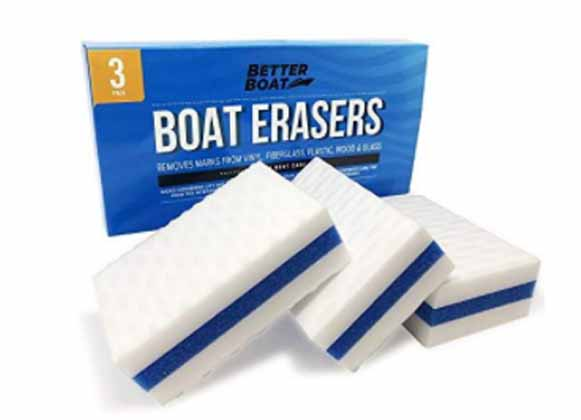 A pack of boat erasers